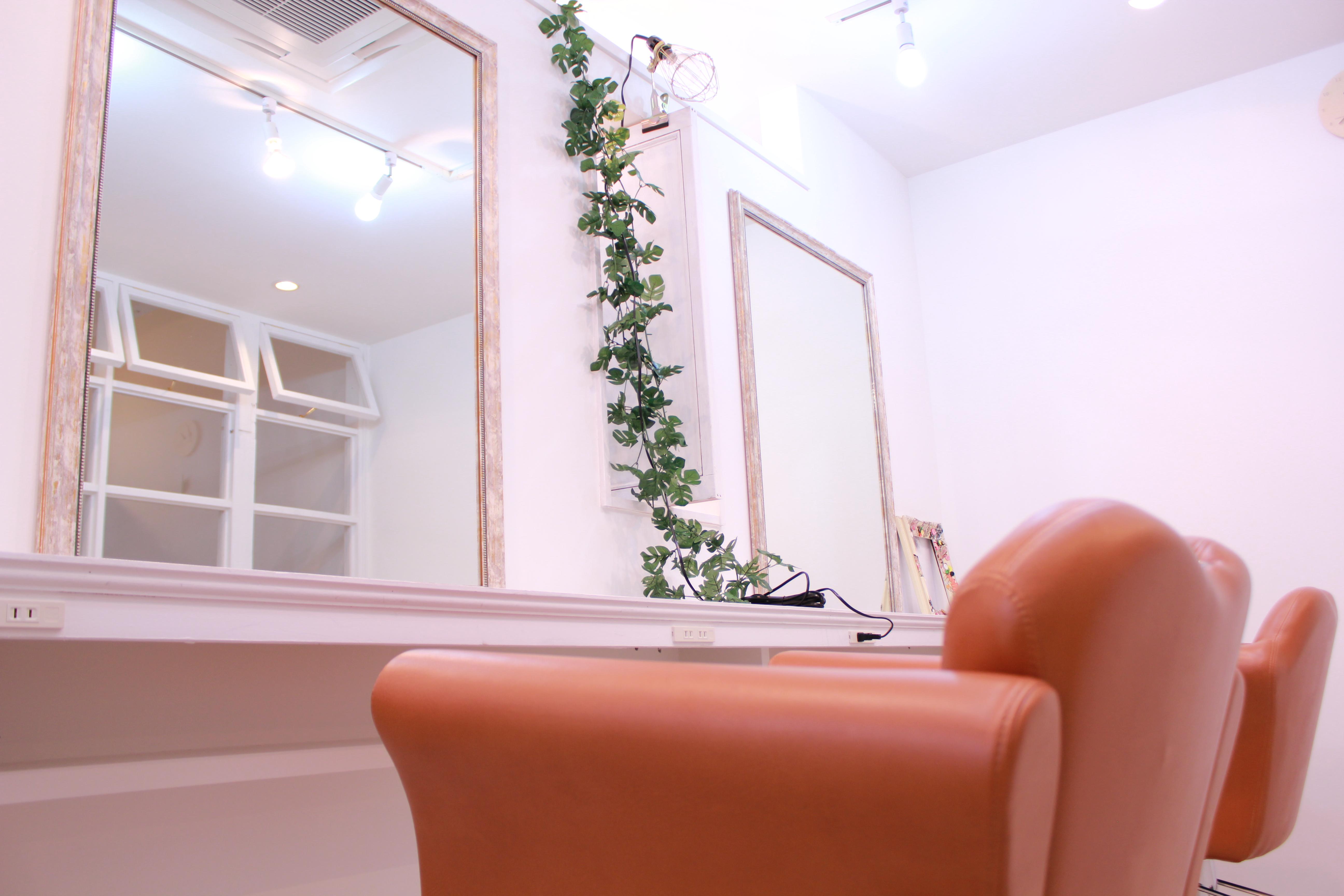 美容室居抜き物件の写真です。